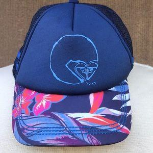 Roxy floral baseball cap